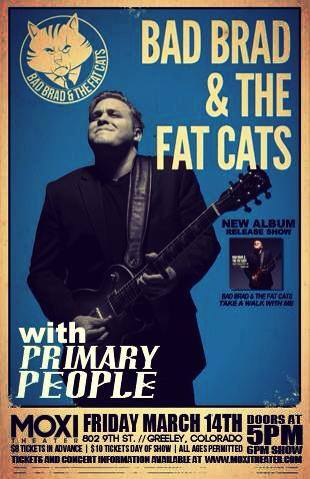 Greeley Blues F.A.C. with Bad Brad & the Fat Cats!